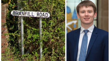 Havering Council leader Damian White, right, said the authority would consider renaming streets name