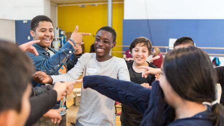 Stratford Circus is fundraising to help it continue running programmes such as its summer school, pi