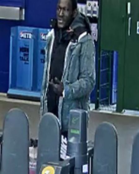 Police have released CCTV images today to appeal for help in finding this man. Picture: British Tran