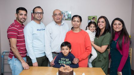 Rohit is a checkout clerk at Asda and fell ill in March before the government issued lockdown. Pictu