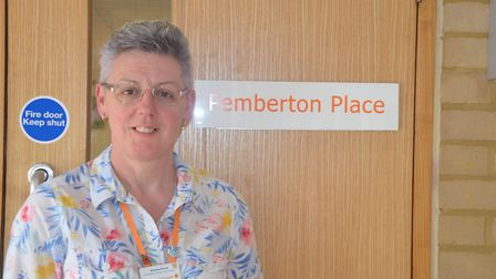 Andrea Prout is the co-ordinator of Pemberton Place, the hospice's day services and social hub for p