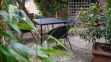 New garden furniture has been added to the gardens to allow more people to sit and take a moment to