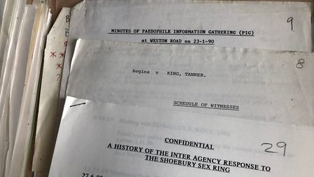 Whistleblowers who worked on the 'Shoebury sex ring' investigation retained hundreds of pages of doc