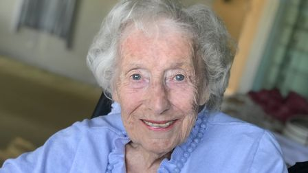Dame Vera Lynn has died at the age of 103. Picture: Dame Vera Lynn