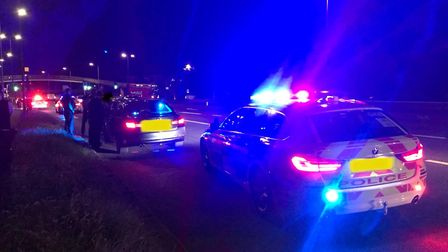 A joint operation between the Metropolitan Police and Essex Police. Picture: Essex Police