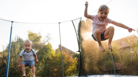 Encouraging the kids to play outside will help them stay fit and active. Picture: Getty Images