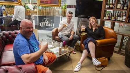Tap East in Stratford reopened on July 4. Picture: Ellie Hoskins