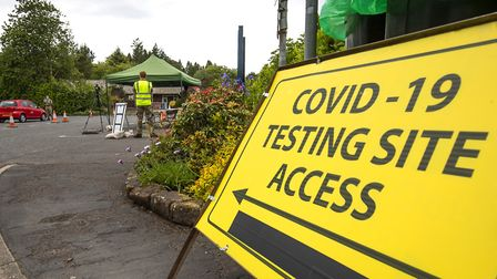 A permanent coronavirus walk-through testing facility will open in Ilford on Wednesday (July 15). Pi