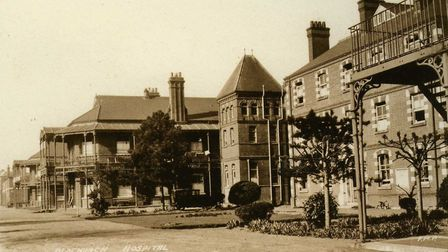 The original Romford Workhouse infirmary buildings of Oldchurch Hospital in the 1930s. Picture: Bria
