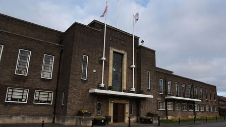 The covert audio recording captured Havering Tories in a private meeting at the Town Hall. Picture: