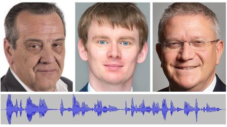 Ex-Tory councillor Bob Perry has challenged his former leader Damian White to a live radio debate, a