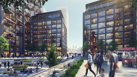 Artist's impression of the Thameside West development. Picture: Keystone