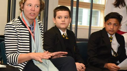 Cabinet member for education Cllr Julianne Marriott, pictured at Rokeby School, has stood down as a
