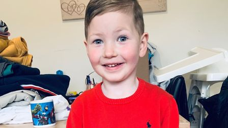 Five-year-old Jacob Tompkins is hoping to go to Disneyland Paris with his family, courtesy of The Dr