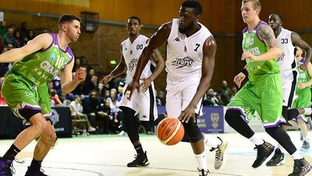 London Lions attack at Manchester (pic Graham Hodges)