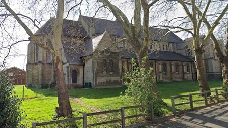 The proposed mast would have been 15 metres from Holy Trinity Church, South Woodford. Picture: LDRS