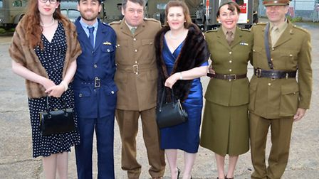 A hangar dance was held at Ellough Airfield in Beccles to raise funds for the Louise Hamilton Centre