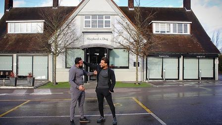 Love Island's Kem Centinay will take over the Shepherd and Dog in Harold Wood. Picture: Kem Centinay