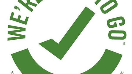The 'We're Good To Go' initiative is a self-assessmentand , once completed, businesses will receive