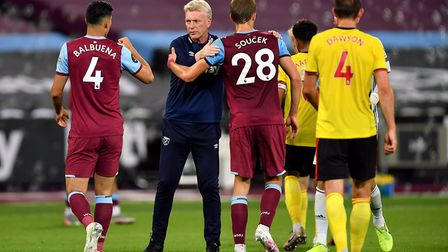 West Ham United manager David Moyes after his side's win over Watford