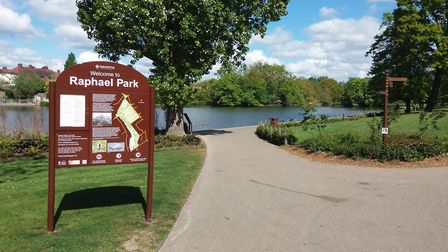 Plans have been submitted for an adventure golf course in Raphael Park, Romford. Picture: Ken Mears