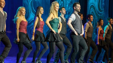 The Rhythm of the Dance show was performed at the Marina Theatre in Lowestoft.