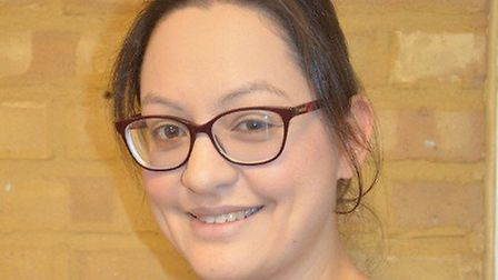 Dr Anna Gray is training to become a palliative care consultant. Picture: Saint Francis Hospice