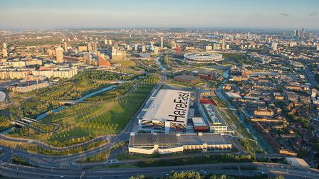 Queen Elizabeth Olympic Park venues have reopened after lockdown. Picture: LLDC