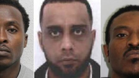 Police wish to speak with these three men following a fatal shooting in Roydon. Picture: Essex Polic