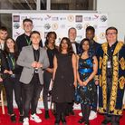 The organisers and directors celebrating the Romford Film Festival in 2019. Picture: Mark Sepple