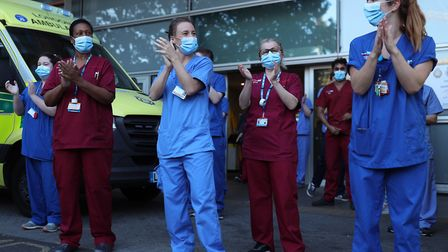 Staff at Barts Health NHS Trust hospitals who have been on the front line of the pandemic are set to