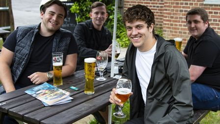 The Optimist Tavern in Upminster reopened at the beginning of July. Picture: Ellie Hoskins
