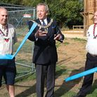 Essex Freemasons' Provincial Grand Master Rodney Bass, centre, died after a long battle with cancer.
