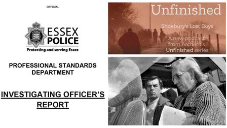 Essex Police's Professional Standards Department has found a series of failures in the way a child a