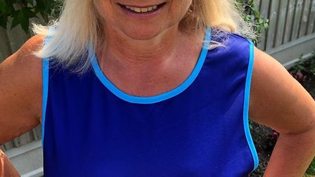 Harold Wood resident Julie Fisher is walking a marathon to raise money for Cancer Research UK. Pictu