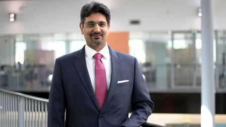 Mandeep Gill is the new principal and CEO of Newham Sixth Form College. Pic: NewVIc