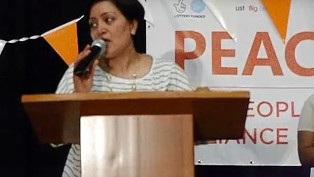 """Rokhsana Fiaz told PEACH she would """"look at ending the contract"""" at an anniversary celebration. Pict"""