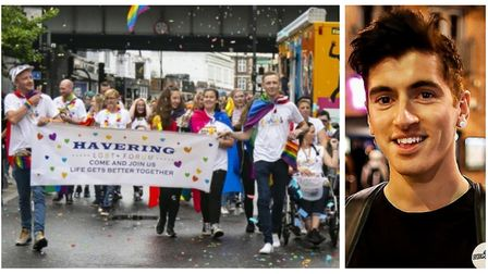 LGBT+ people in Havering still face abuse, says Romford Pride organiser. Pictures by Ellie Hoskins a