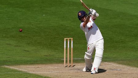 Essex's Adam Wheater bats during day three of the Bob Willis Trophy match at 1st Central County Grou