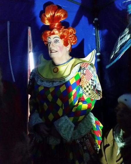 Christopher Marlowe is planning on previewing this year's panto at Saturday's performance. Picture: