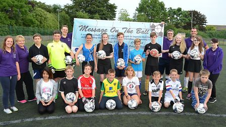 Message on the Ball is a new football academy that has been launched by London Road Baptist Church.