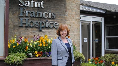 St Francis Hospice Chief Executive Pam Court
