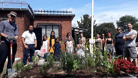 A group of residents have revitalised Loxford Park. Picture: Loxford Gardeners