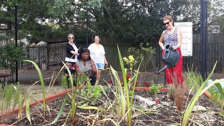 The Loxford Gardeners, which came together at the start of lockdown, have cleaned up their park. Pic