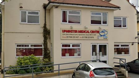 Upminster Medical Centre, in St Mary's Lane, which has been put into special measures by the Care Qu