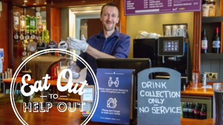 Eat Out to Help Out scheme is running this August. Picture: Ken Mears