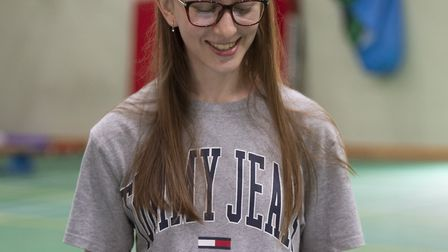 Chloe Dudley, who is the first in her family to attend university said it was 'surreal' that she wil