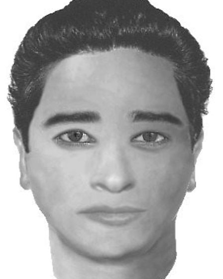 This e-fit of the suspect was circulated but it did not lead to anyone being identified. Picture: Me