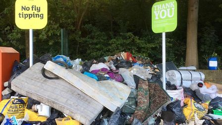 Fly-tipping has increased since lockdown. Picture: Ron Jeffries