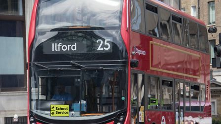 The school service sign will be displayed on buses. Picture: TfL